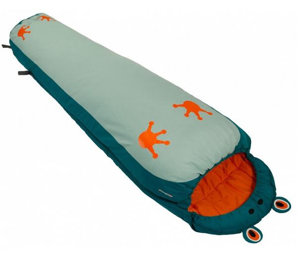 288b969d047 Двусезонен спален чувал тип мумия Vango Wilderness Frog с форма на жаба,  подходящ за тийнейджъри
