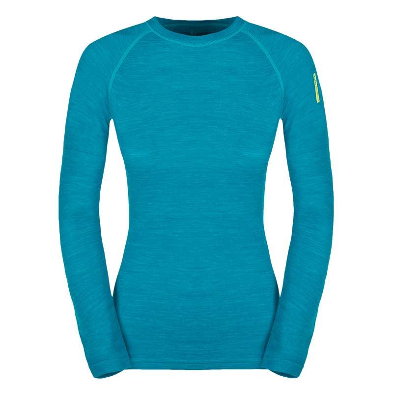 ffb5abf3a77 Дамска термо блуза с дълъг ръкав от мериносова вълна и бамбук Zajo Nora  Merino W LS